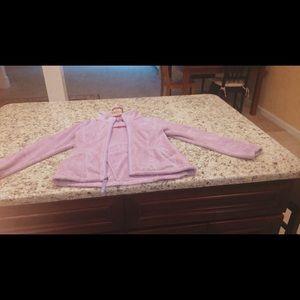 Kids Purple North Face Sweatshirt